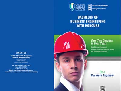 Bachelor of Business Engineering